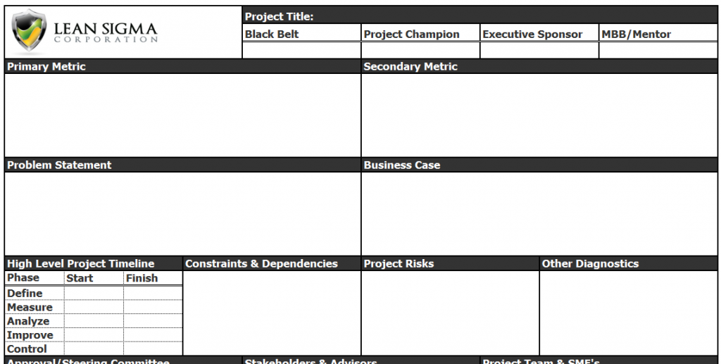 high level project plan template ppt