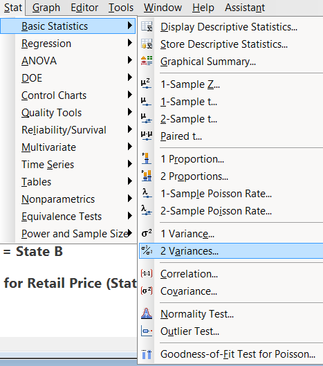Two Sample t Test with Minitab - Lean Sigma Corporation