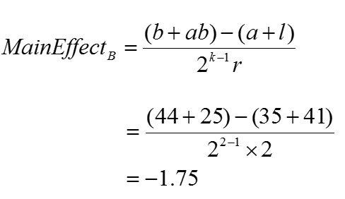 Full Factorial EQ3