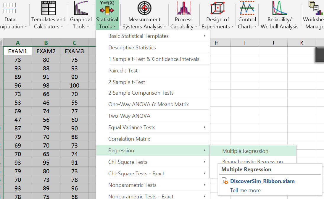 correlation regression and chi square excel worksheet In any worksheet cell what result i am running a 5×5 chi square test in excel com/correlation/dichotomous-variables-chi-square-independence-testing.